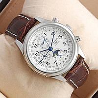 Мужские  часы  Longines - automatic, механика с автозаводом, цвет корпуса серебро