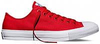Мужские кеды Converse Chuck Taylor All Star (конверс) красные