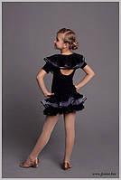 Юбка для танцев на девочку и блуза для тренировок «Сирень»