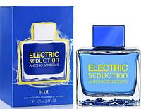 Мужская туалетная вода Antonio Banderas Electric Seduction Blue (Антонио Бандерас Электрик Седакшн Блю) AAT