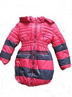 Детская модная куртка на овчине (зима)