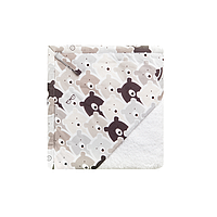 Cotton Living - Детское полотенце уголок Funny Bears Silver