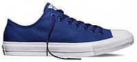 Мужские кеды Converse Chuck Taylor All Star (конверс) синие