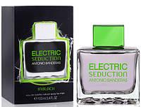 Мужская туалетная вода Antonio Banderas Electric Seduction In Black ( Бандерас Электрик Седакшн Блек) AAT