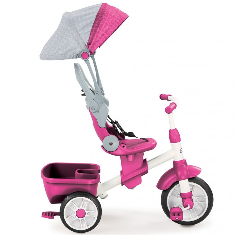 Детский велосипед Perfect Fit 4 в 1 Trike Pink Little Tikes 639654
