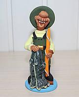 Статуэтка Рыбак с судаками