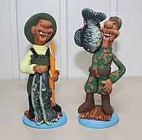 Набор из 2 фигурок Рыбаки
