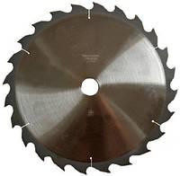 Пилы дисковые с твердосплавными пластинами для продольного распила натурально древесины