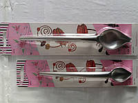 Ложка-перо(ручка) для украшения блюд малая