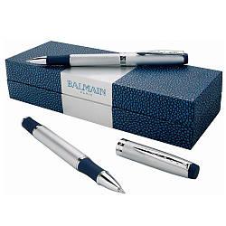 Набор ручек 'Perpignan' (Balmain) (Синий) 1 цвет