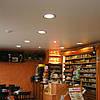 Сатиновый натяжной потолок в кафе, ресторанах, гостиницах