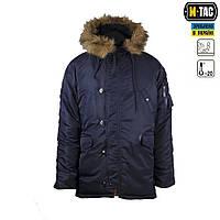 M-Tac куртка N3B Аляска ЗИМНЕЕ СОЛНЦЕ Navy Blue