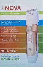 Беспроводная машинка для стрижки волос Nova Power Cordless Trimmer NHC-7882 new, фото 3