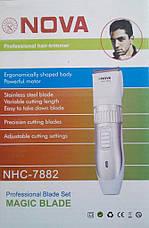 Беспроводная машинка для стрижки волос Nova Power Cordless Trimmer NHC-7882 new, фото 2