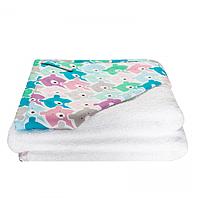 Cotton Living - Детское полотенце уголок Funny Bears Pink