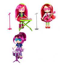 Лялечки Шарлотта Суничка серії Музичні історії Суничка Малинка і Сливка