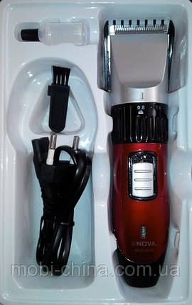 Беспроводная машинка для стрижки волос Nova Power Cordless Trimmer NHC-6015, фото 2