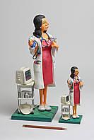 Коллекционная статуэтка Доктор Forchino, ручная работа