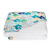 Cotton Living - Детское полотенце уголок Funny Bears Blue