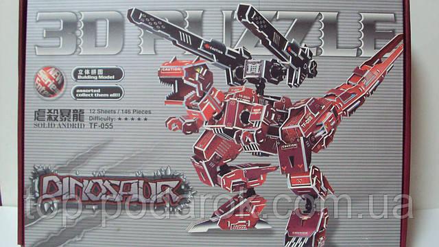 3D PAZZLE Робот
