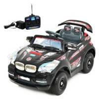 Детский электромобиль черный БМВ M0568
