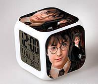 Умные часы Гарри Поттер с подсветкой и будильником