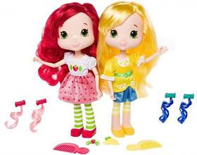Куколки Шарлотта Земляничка серии Стильные прически Земляничка и Лимона с приятным ароматом