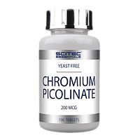 Жироспалювач Chromium Picolinate Scitec Nutrition 100 tabs