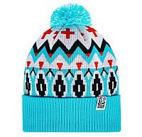 Мужская зимняя шапка с помпоном Urban Planet С24 SKY