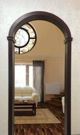 Межкомнатная арка Престиж-Классика 15 см, Проем 80 см,делаем любой размер, фото 2
