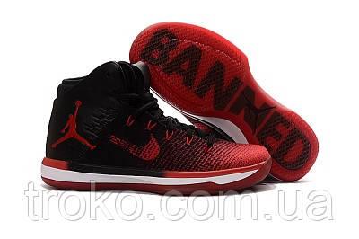 ebe76eed80c2 Женские Баскетбольные кроссовки Nike Air Jordan 31 (XXX1) Black Red ...