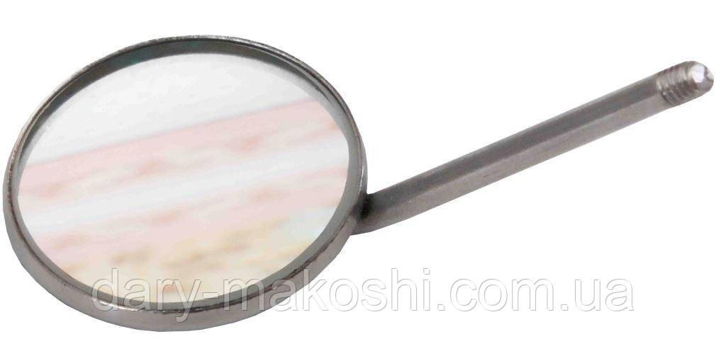Зеркало стоматологическое без увеличения, 22 мм NaviStom