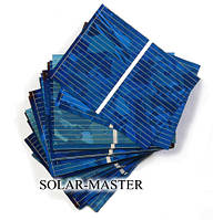 Солнечные элементы 40 шт 52X38 мм