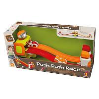 Детская игрушка Автогонки с катапультами;звук;18М