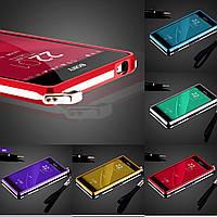 """SONY Z3 D6633 D6603 металлический алюминиевый противоударный бампер рамка для телефона с огранкой """"SIROCO"""""""