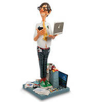 Коллекционная статуэтка Программист Forchino, ручная работа FO 85530