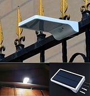 Светильник на солнечной энергии 3 режима 36 LED  c датчиком движения