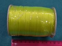 Атласный шнур 2,5 мм  лимонный  20271