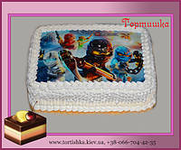 Торт Ниндзяго