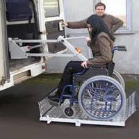 Автомобильные подъемники для инвалидов Площадка подъемная автомобильная ППА-150