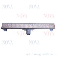 Трап линейный нержавеющая сталь 70х600 5074 Nova (Турция)