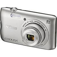 Цифровой фотоаппарат Nikon Coolpix A300 Silver (VNA960E1)
