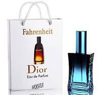 Мини парфюм мужской Christian Dior Fahrenheit в подарочной упаковке 50 ml