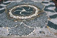 Дорожки из природного камня и тротуарной плитки № 36