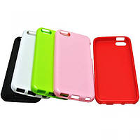 Jelly TPU cover case for HTC One V, white