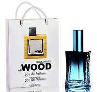 Мини парфюм мужской DSQUARED2 ROCKY MOUNTAIN WOOD в подарочной упаковке 50 ml