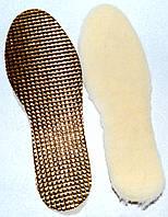 Стельки для обуви из овчины