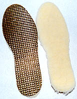 Устілки для взуття з овечої шерсті