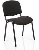 Офисный удобный Стул с мягкой спинкой и сидушкой ISO black C24