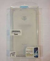 Celebrity TPU cover case for HTC One V, white